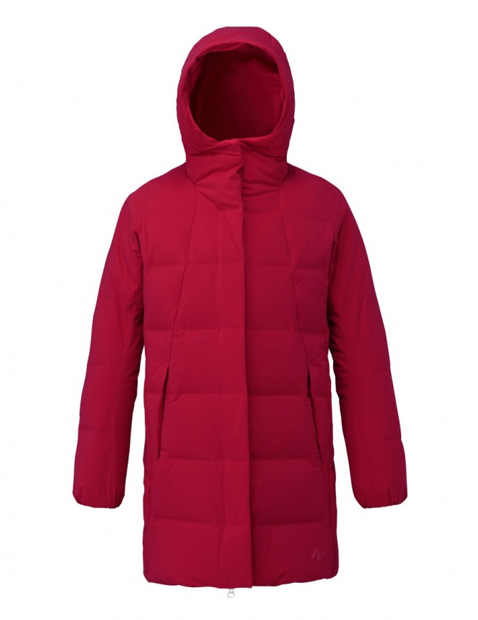 best sneakers ca5fe 2ceed Cappotto piumino Allterrain by Descente Mizusawa Element L colore rosso