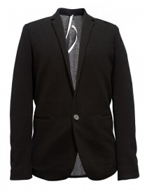Mens suit jackets online: Label Under Construction Slim Fit black jacket