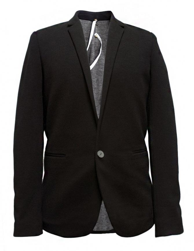 Label Under Construction Slim Fit black jacket 30FMJC93-WW66B-30-99 mens suit jackets online shopping