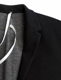 Giacca Label Under Construction Slim Fit colore nero giacche uomo acquista online