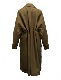 Cappotto Rito in lana colore cammello acquista online