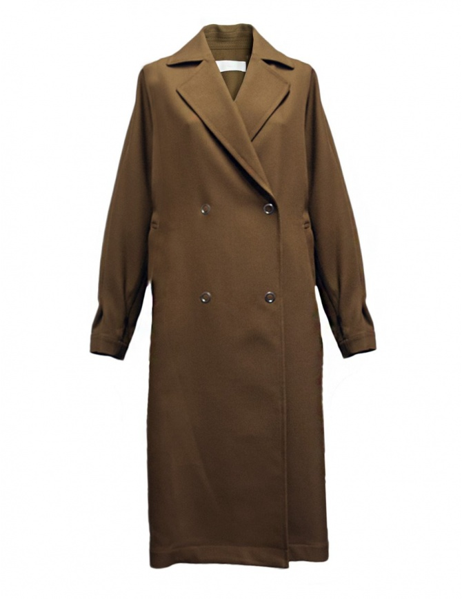 Cappotto Rito in lana colore cammello 0777RTW109C CML COAT cappotti donna online shopping