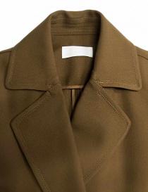 Cappotto Rito in lana colore cammello prezzo