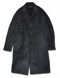 Mens coats online: Roarguns Polartec black coat