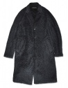 Cappotto Roarguns nero in Polartec acquista online 17FGC-07-COAT