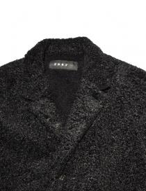 Cappotto Roarguns nero in Polartec prezzo