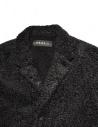 Cappotto Roarguns nero in Polartec 17FGC-07-COAT prezzo