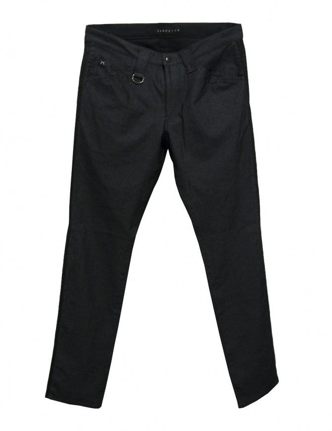 Pantalone Roarguns elasticizzato grigio scuro 17FGP-04 PANTS pantaloni uomo online shopping