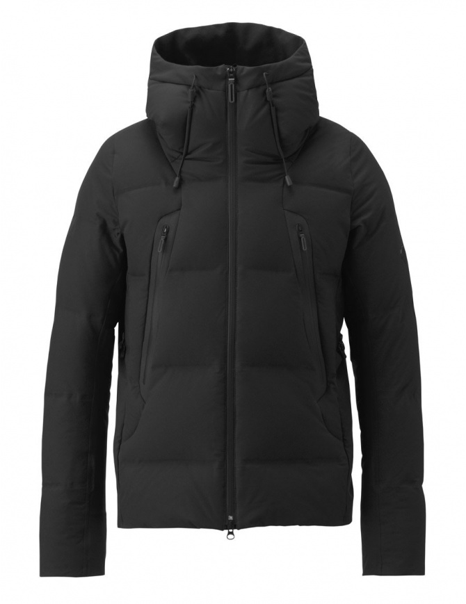 Allterrain by Descente Misuzawa Mountaineer black down jacket DIA3770U-BLK mens jackets online shopping