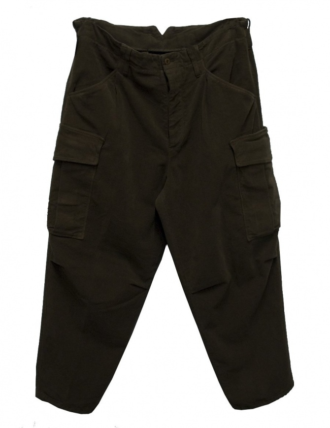 Cellar Door Cargo brown trousers CARGO-P108-07 mens trousers online shopping