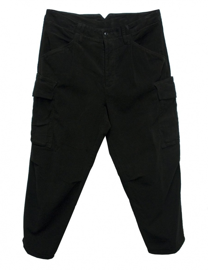Cellar Door Cargo black trousers CARGO-P108-99 mens trousers online shopping