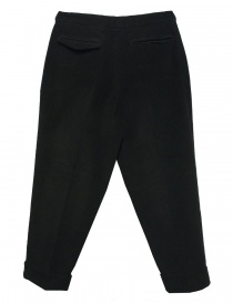 Cellar Door Leo T black velvet trousers buy online