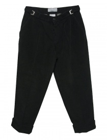 Cellar Door Leo T black velvet trousers LEOT-P110-99