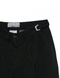 Cellar Door Leo T black velvet trousers price