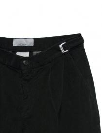 Pantalone Cellar Door Leo T in velluto nero prezzo