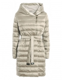 Womens jackets online: 'S Max Mara Novef ivory down jacket