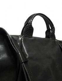 Delle Cose 752 asphalt black leather bag bags buy online