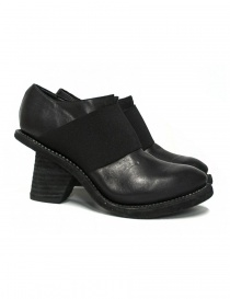 Womens shoes online: Guidi 6003E black leather shoes