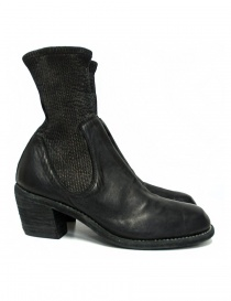 Womens shoes online: Guidi SB96D black leather ankle boots