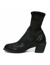Guidi SB96D black leather ankle boots buy online