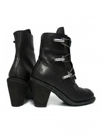 Guidi 3095G black leather ankle boots price
