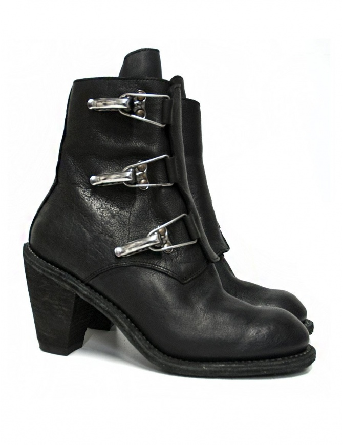 Guidi 3095G black leather ankle boots 3095G-BUFFALO-FULL-G womens shoes online shopping