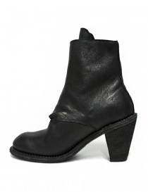 Guidi 3095G black leather ankle boots