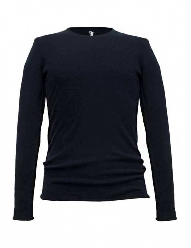 Label Under Construction Punched navy sweater 30YMSW154 WA11 30/NB SWEAT mens knitwear online shopping