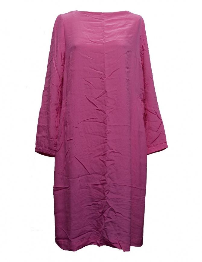 Casey Casey fuchsia silk tunic dress 09FR182-CHINE-PINK womens dresses online shopping