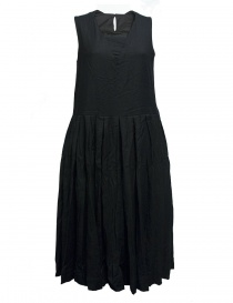 Casey Casey wool and cashmere black dress 09FR185-WOOL-BLK order online