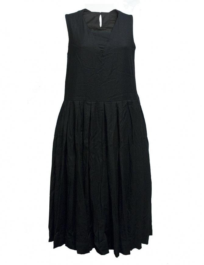 Abito Casey Casey in lana e cashmere colore nero 09FR185-WOOL-BLK abiti donna online shopping