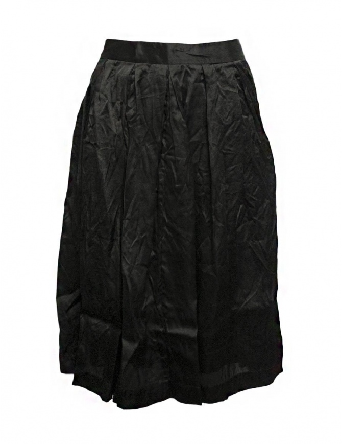 Casey Casey organza black skirt 09FJ45-ORGANZA-BLK womens skirts online shopping