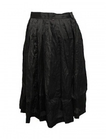 Gonna Casey Casey organza colore nero acquista online