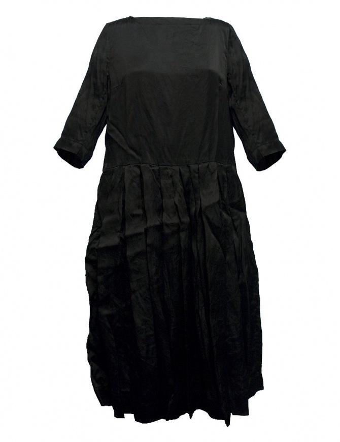 Abito Casey Casey organza colore nero 09FR172-ORGANZA-BLK abiti donna online shopping
