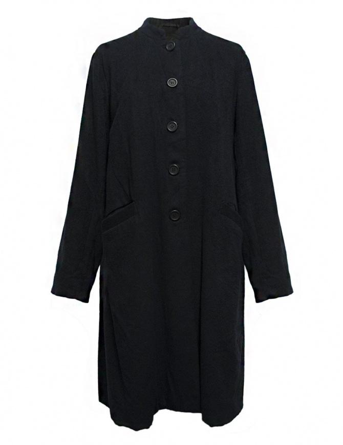 Casey Casey coat navy 05FM24C-NAVY womens coats online shopping