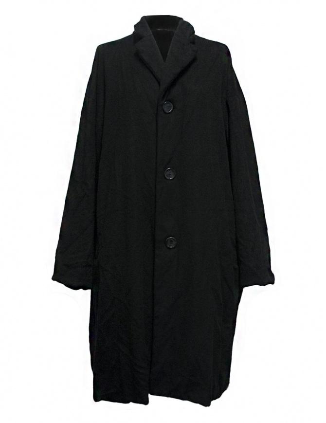 Casey Casey black coat 09FM48-CASH-BLK womens coats online shopping
