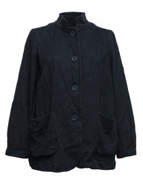 Giacche donna online: Giacca Casey Casey in cashmere colore blu navy