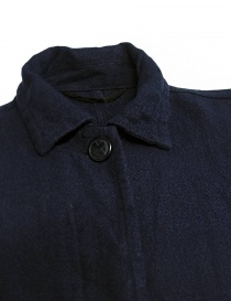 Casey Casey workwear style navy coat price