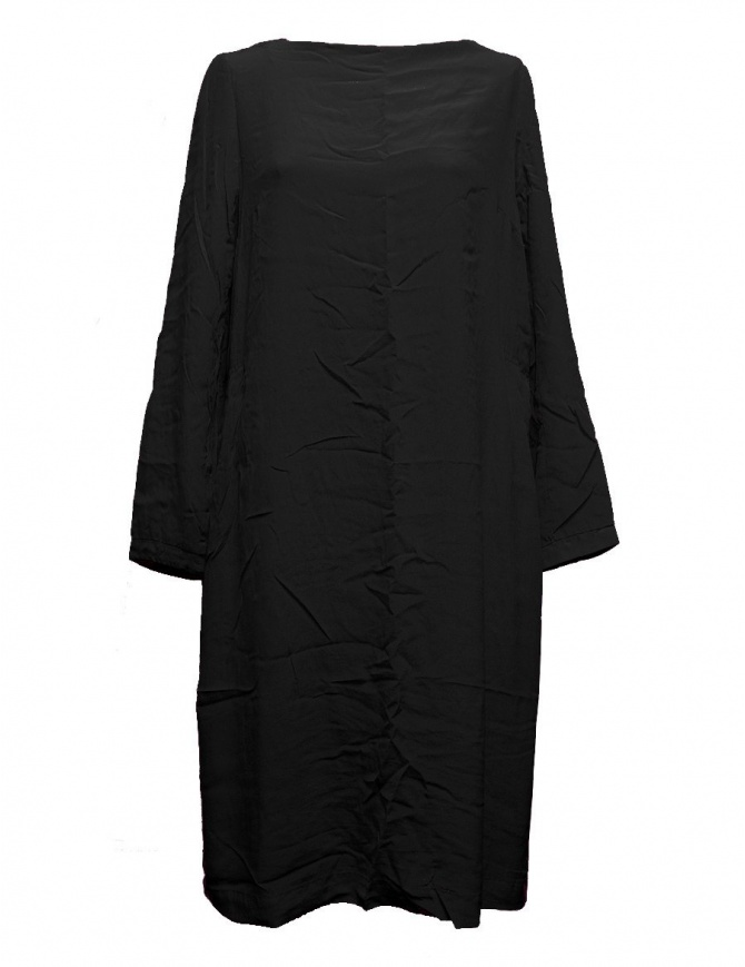 Casey Casey black silk tunic dress 09FR182-CHINE-BLK womens dresses online shopping