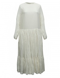 Casey Casey natural white banana fabric dress online