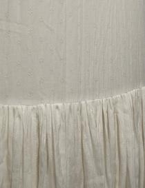 Casey Casey white banana fabric dress price