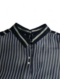 Rito oversize blue stripes shirt price