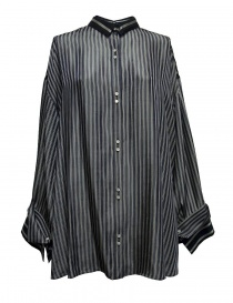 Camicia oversize Rito a righe blu 0777RTW106B-NVY-SHIRT order online