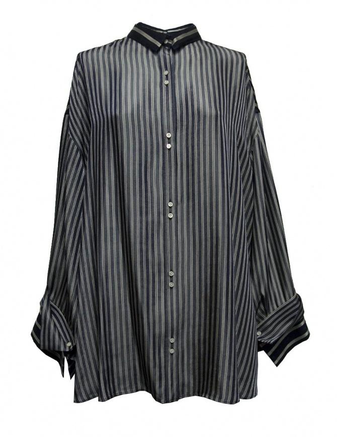 Rito oversize blue stripes shirt 0777RTW106B-NVY-SHIRT womens shirts online shopping