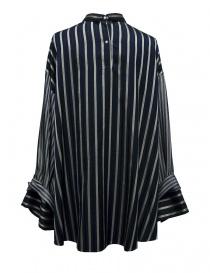 Camicia oversize Rito a righe blu
