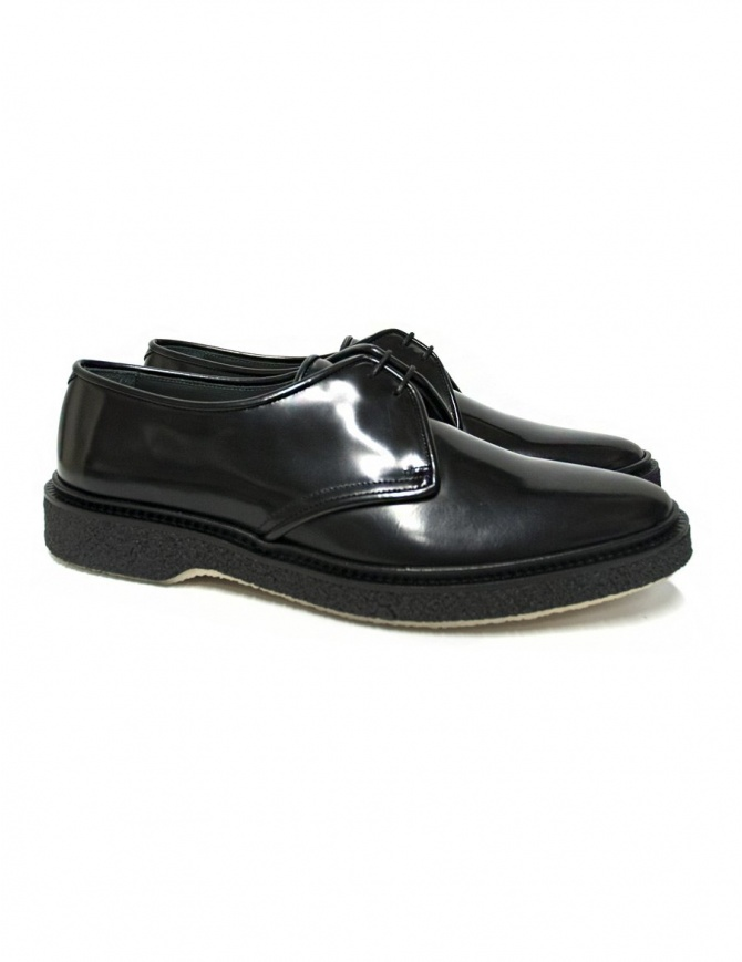 Scarpa Adieu Type 1 in pelle nera lucida TYPE-1-CLASSIC-POLIDO-BLA calzature uomo online shopping