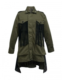 Rude Riders fringed and patched jacket P95405-44615-CAPPOTTO order online