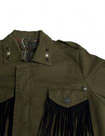Giacca Rude Riders con patch e frange giacche donna acquista online