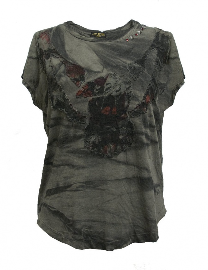 T-shirt Rude Riders con borchie P95061-44615-T-SHIRT t shirt donna online shopping