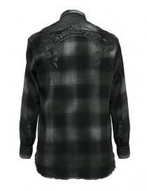 Camicia a quadri Rude Riders colore grigio scuro